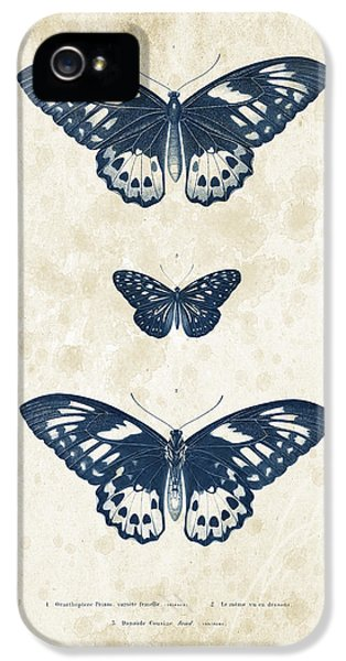 Insects - 1832 - 04 IPhone 5 Case by Aged Pixel