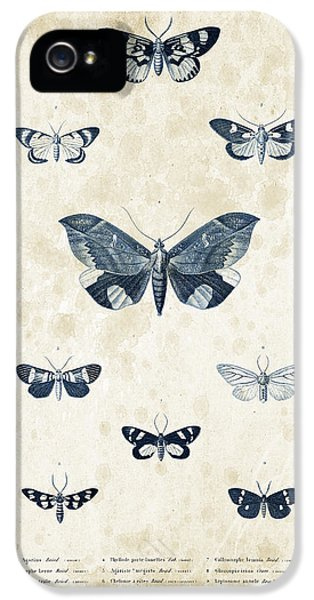 Insects - 1832 - 05 IPhone 5 Case by Aged Pixel