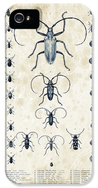 Insects - 1832 - 08 IPhone 5 Case by Aged Pixel