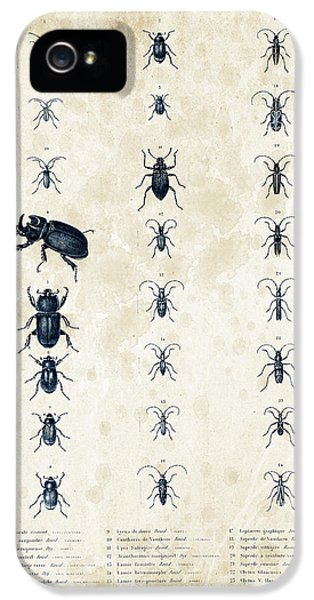 Insects - 1832 - 09 IPhone 5 Case by Aged Pixel