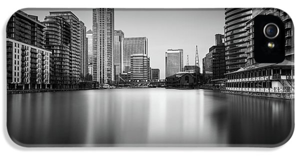 Inside Canary Wharf IPhone 5 Case by Ivo Kerssemakers