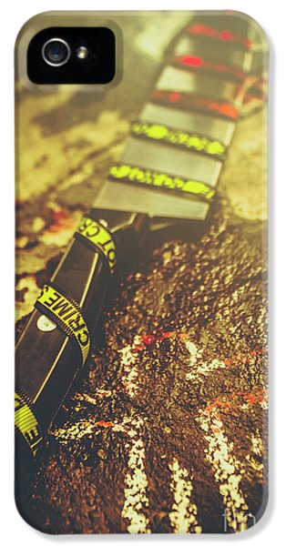 Instrument Of Crime IPhone 5 / 5s Case by Jorgo Photography - Wall Art Gallery