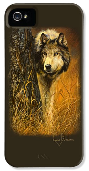 Interested IPhone 5 Case by Lucie Bilodeau