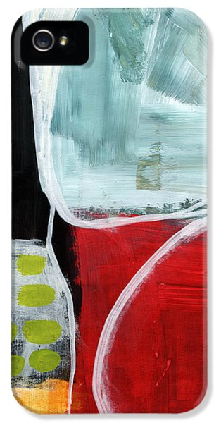 Intersection 37- Abstract Art IPhone 5 Case by Linda Woods