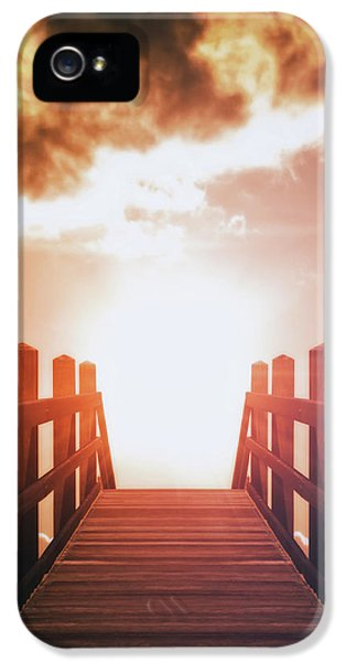 Into The Sun IPhone 5 Case by Wim Lanclus