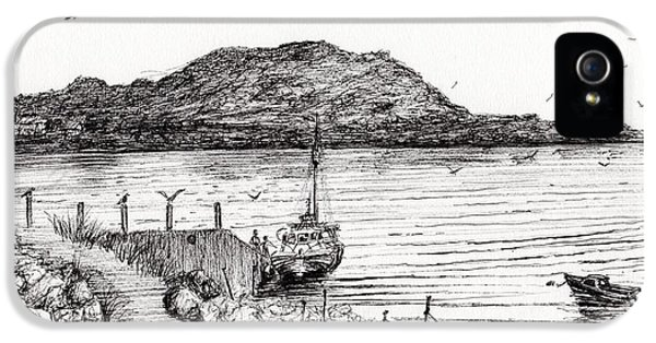 Iona From Mull IPhone 5 Case by Vincent Alexander Booth