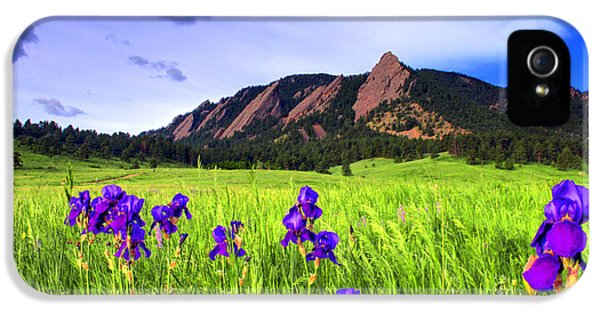 Iris And Flatirons IPhone 5 Case