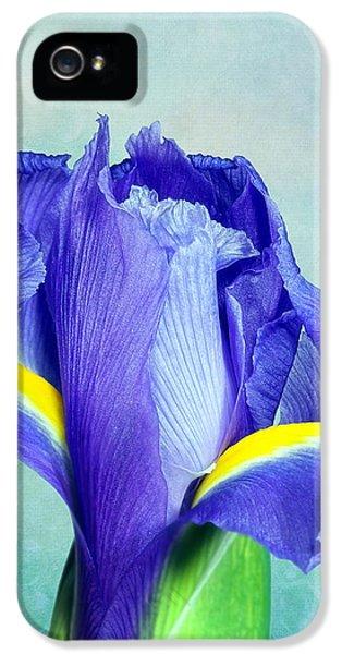 Iris Flower Of Faith And Hope IPhone 5 Case by Tom Mc Nemar