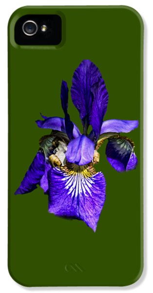 IPhone 5 Case featuring the photograph Iris Versicolor by Mark Myhaver