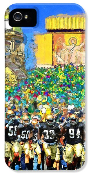 Day iPhone 5 Case - Irish Run To Victory by John Farr