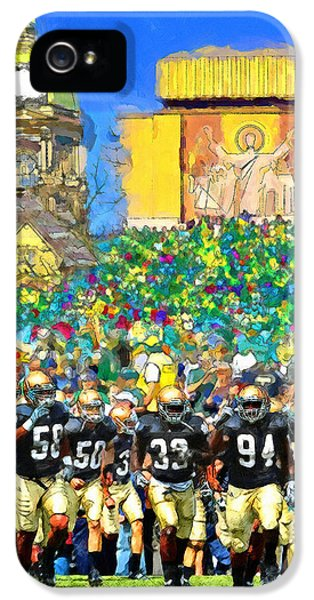 Irish Run To Victory IPhone 5 Case