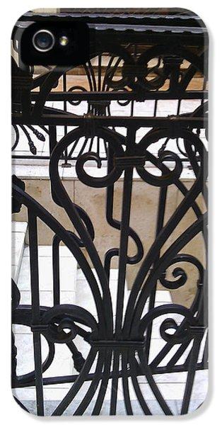 Iron Decorative Heart IPhone 5 Case