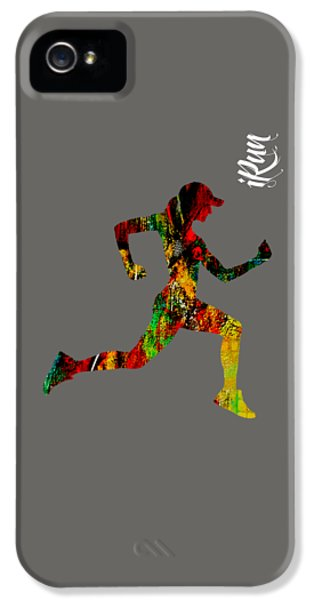 iRun Fitness Collection IPhone 5 / 5s Case by Marvin Blaine