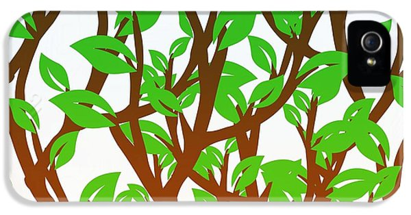 It's A Jungle Out There  IPhone 5 Case by Sandy Taylor