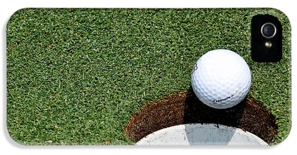 Golf iPhone 5 Case - It's In The Hole by Shawn Wood