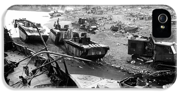 Iwo Jima Beach IPhone 5 Case