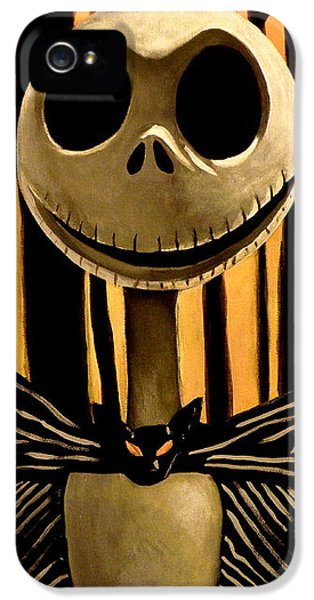 Jack Skelington IPhone 5 Case