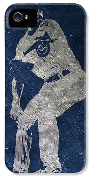 Jake Arrieta Chicago Cubs Art IPhone 5 / 5s Case by Joe Hamilton