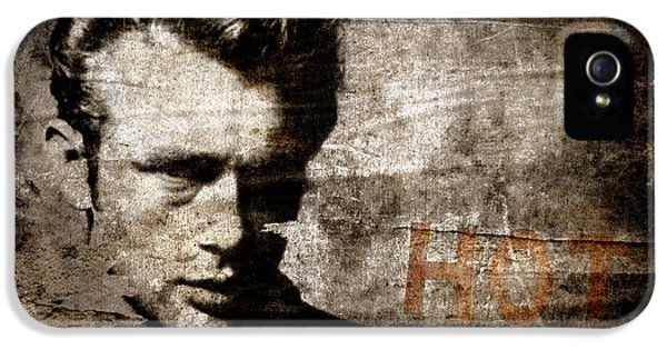 James Dean Hot IPhone 5 Case by Carol Leigh