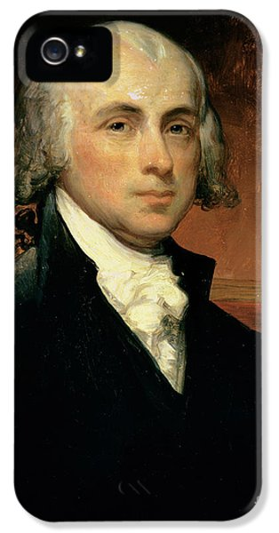 James Madison IPhone 5 Case by American School