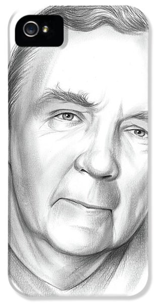 Wizard iPhone 5 Case - James Patterson by Greg Joens