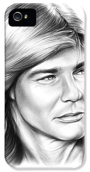 Helicopter iPhone 5 Case - Jan Michael Vincent by Greg Joens