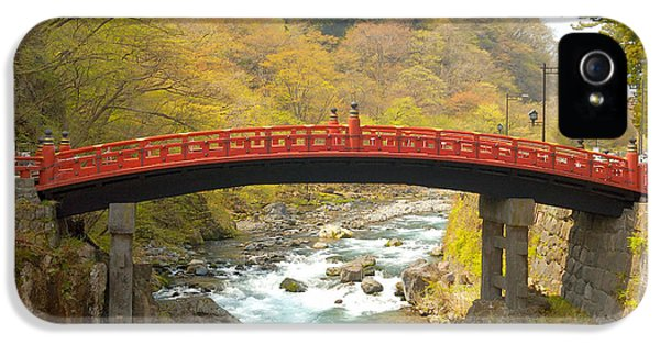 Color iPhone 5 Cases - Japanese Bridge iPhone 5 Case by Sebastian Musial