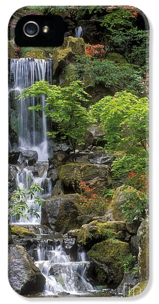 Japanese Garden Waterfall IPhone 5 / 5s Case by Sandra Bronstein