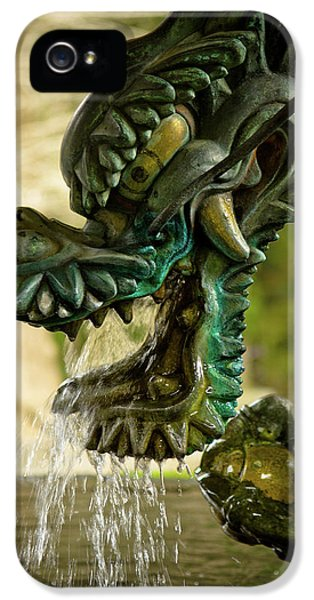 Japanese Water Dragon IPhone 5 Case by Sebastian Musial