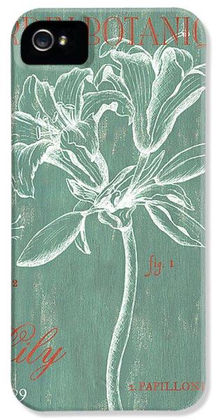 Jardin Botanique Aqua IPhone 5 Case