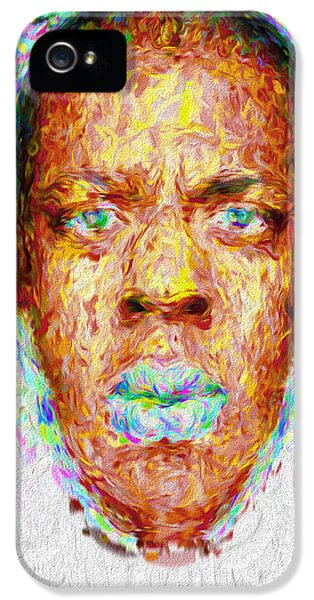 Jay Z Painted Digitally 2 IPhone 5 Case