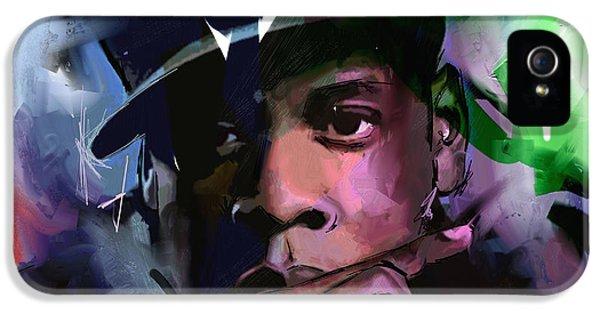 Jay Z IPhone 5 Case by Richard Day
