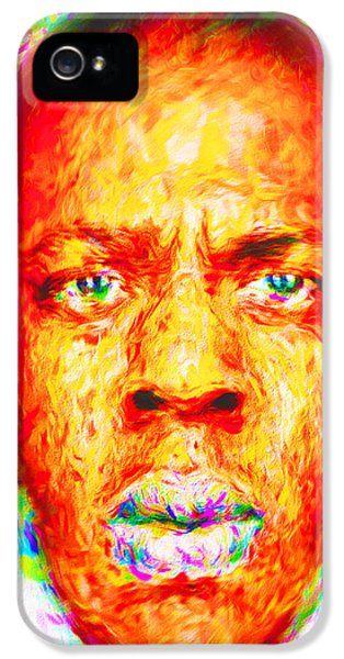 Jay-z Shawn Carter Digitally Painted IPhone 5 Case