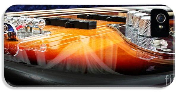 Guitar iPhone 5 Case - Jazz Bass Beauty by Todd A Blanchard