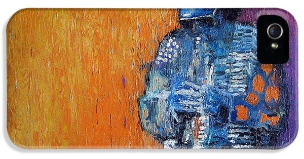 Trumpet iPhone 5 Case - Jazz Miles Davis 2 by Yuriy Shevchuk