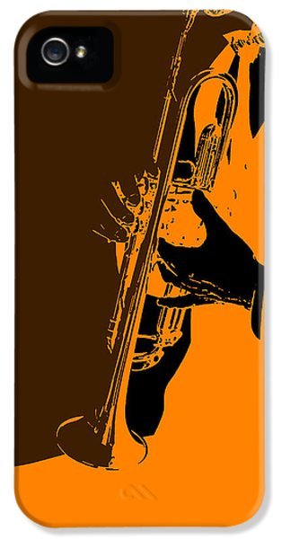 Saxophone iPhone 5 Case - Jazz by Naxart Studio