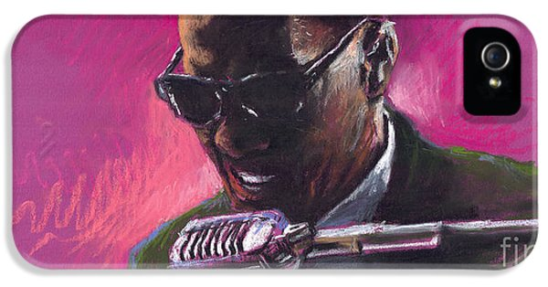 Jazz. Ray Charles.1. IPhone 5 Case by Yuriy  Shevchuk
