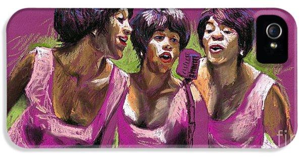 Musician iPhone 5 Case - Jazz Trio by Yuriy Shevchuk