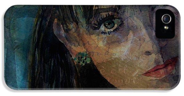Jean Shrimpton IPhone 5 Case by Paul Lovering