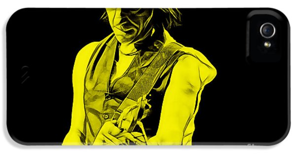 Jeff Beck Collection IPhone 5 Case by Marvin Blaine