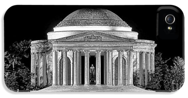 Jefferson Memorial Lonely Night IPhone 5 Case
