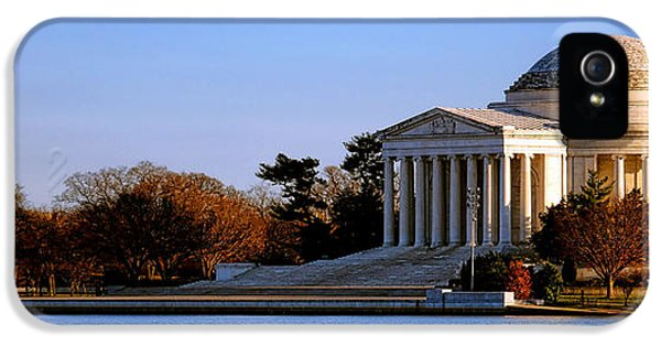 Jefferson Memorial Sunset IPhone 5 Case by Olivier Le Queinec
