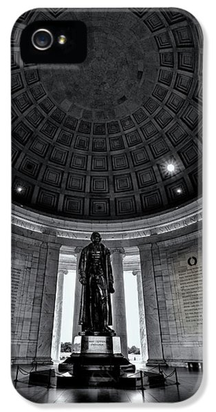 Jefferson Statue In The Memorial IPhone 5 Case