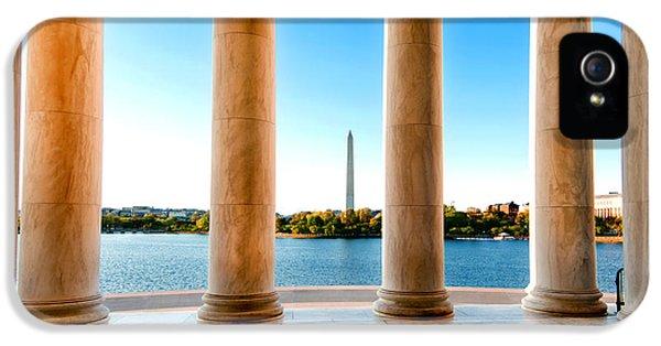 Jefferson To Washington IPhone 5 Case