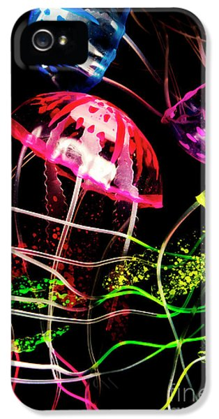 Jelly Fish Trails IPhone 5 Case