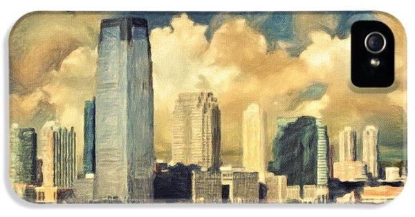 Jersey City Skyline IPhone 5 Case