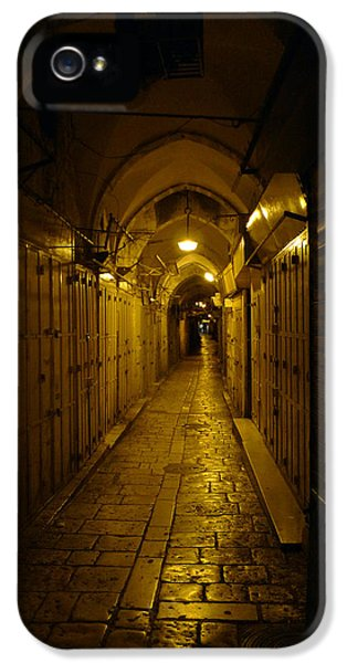 IPhone 5 Case featuring the photograph Jerusalem Of Copper 1 by Dubi Roman