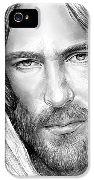 Jesus Face IPhone 5 Case by Greg Joens