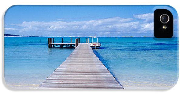 Jetty On The Beach, Mauritius IPhone 5 Case