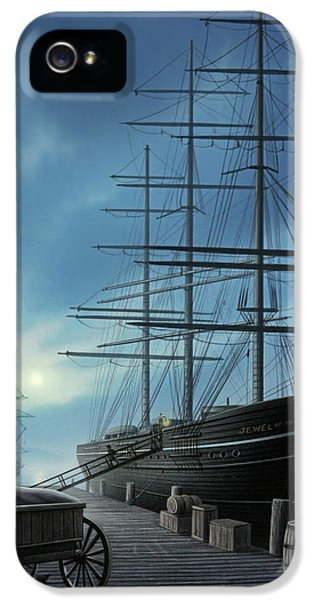 Jewel Of The North IPhone 5 Case by Jerry LoFaro